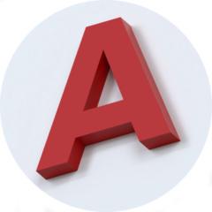 объемная буква без подсветки воронеж